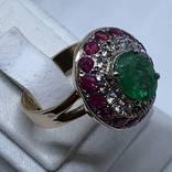 Колье и кольцо с драгоценными камнями photo 6