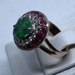 Колье и кольцо с драгоценными камнями photo 7