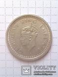 1 рупия 1944 Британская Индия, серебро photo 2