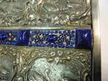 Шкатулка для украшений сюжетная ( бронза , серебрение , детализация ) Европа, фото №8