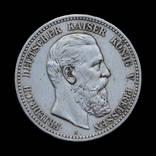 5 Марок 1888 Фридрих, Пруссия