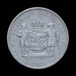 Горнорудній Талер 1865, Саксония