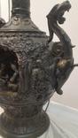 Европа Большая настольная Амфор фонтан светильник Древнегреческий Стиль