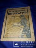 1927 Деревенский штукатур