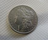 1 $ 1889 год США серебро