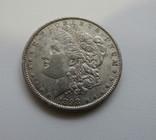 1 $ 1898 год США серебро