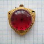 Годинник кулон Заря au5 (червоний)