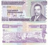 Burundi Бурунди - 100 Francs 1997 UNC JavirNV, фото №2
