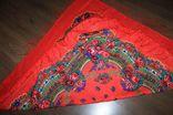 Шерстяной платок №240, фото №8