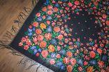Шерстяной платок №244 photo 2