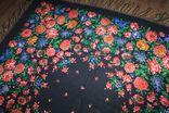 Шерстяной платок №244 photo 6