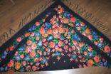 Шерстяной платок №244 photo 7