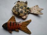 Рыбки, объемный картонаж.