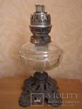 Керосиновая лампа Брюннеръ,Шнейдеръ,Дитмаръ Варшава, фото №2