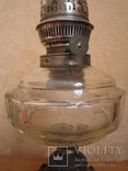 Керосиновая лампа Брюннеръ,Шнейдеръ,Дитмаръ Варшава, фото №7