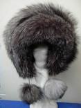Шикарная женская шапка натураьный мех