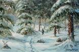 """Картина """"В лесу"""" 30х20"""