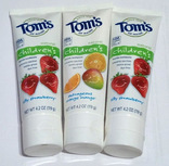 Зубная паста Tom's of Maine 120 г Made in USA 3 шт.