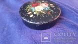Металлическая шкатулка с ручной живописью, фото №5