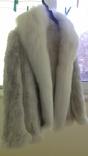 Шикарная женская меховая курточка-накидка