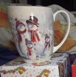Новогодние английские чашки Lefard