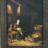 Картина ''Кухарка'', Европа, малые голландцы (копия)., фото №3