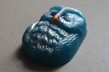 Мыло авторской ручной работы -Сова- с ароматом абрикоса 86 г