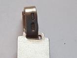 Крестик нательный. Серебро 925 проба., фото №3