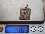 Иконка нательная. Серебро 925 проба., фото №2