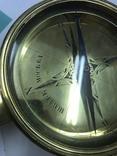Старинный морской компас 19-го века ручная работа