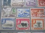 Почтовые марки разные 30 шт., фото №3