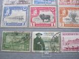 Почтовые марки разные 30 шт., фото №5