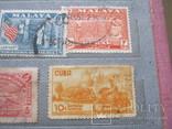 Почтовые марки разные 30 шт., фото №8