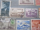 Почтовые марки разные 30 шт., фото №11