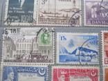 Почтовые марки разные 30 шт., фото №12
