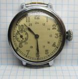Часы Москва 1 ГосЧасЗавод 1 тип . 3 квартал 1941 на ходу.