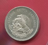 Мексика 5 песо 1948 aUNC Индеец, фото №3