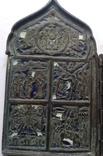 Складень в эмалях., фото №3