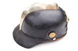 Кожанный шлем пикельхаубе пожарника, до 1914 г.,Пруссия