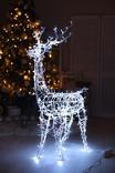 Внешняя гирлянда рождественский олень 124 см (LED Гірлянда
