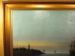 Морской пейзаж Иванъ Рейнусъ 1909 г. photo 2