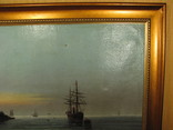 Морской пейзаж Иванъ Рейнусъ 1909 г. photo 3