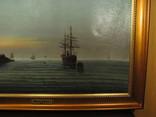 Морской пейзаж Иванъ Рейнусъ 1909 г. photo 4