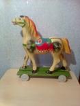Детская игрушка: лошадь СССР