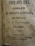 1894 год Горе от ума Грибоедов А.С. карманный 5*7см, фото №10