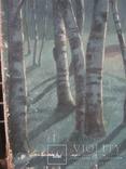 """Светлая ночь"" х.м.,70х100см.,1915г.,авт., фото №7"