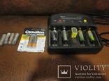 Зарядное устройство + акуммуляторы