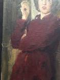 "Генриетта Левицкая, Картина "" Женщина с яблоком "" Холст, масло. photo 12"