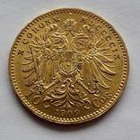 10 крон Австрия 1909 г. photo 2