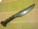 Нож из ЖД костыля photo 2